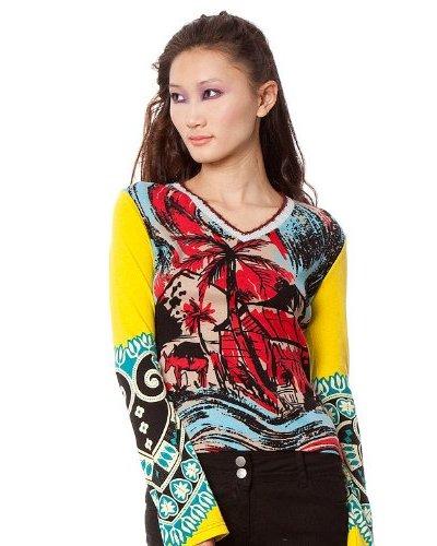 Custo Camiseta Mas Back Multicolor