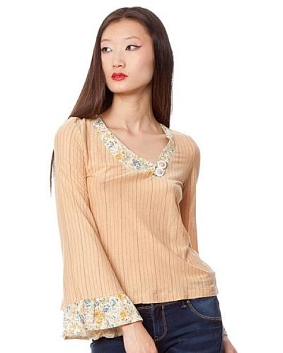 Custo Camiseta Niun Beige