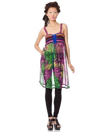 Custo Vestido Mush Multicolor