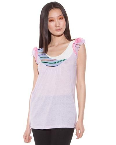 Custo Camiseta Rosa