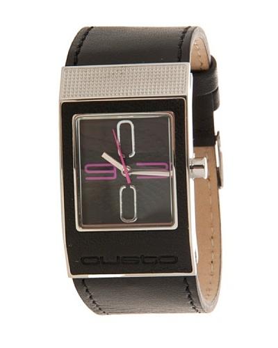 Custo Watches CU032602 - Reloj de Señora cuarzo piel Negro