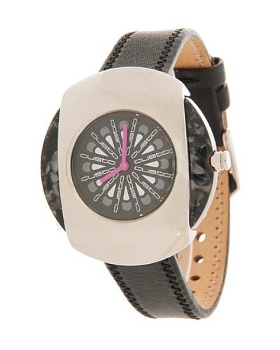 Custo Watches CU023602 – Reloj de Señora cuarzo piel Negro