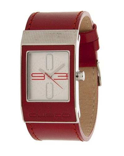 Custo Watches CU032603 - Reloj de Señora cuarzo piel Rojo