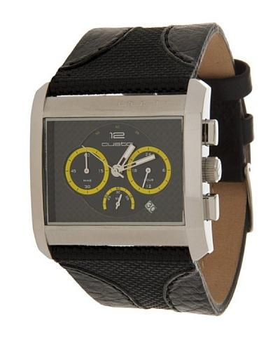 Custo Watches CU005702 - Reloj de Caballero cuarzo piel Negro