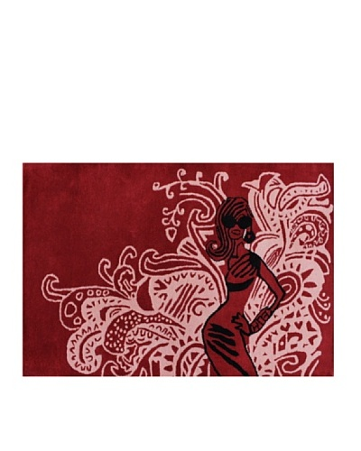 DAC Alfombra Psycodelic Glam Pigalle 80 x 130 cm, diseñada por Jordi Labanda