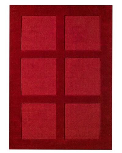 DAC Alfombra Atelier DAC Square Rojo