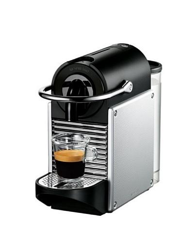 Delonghi Maquina De Café Nespresso Pixie. Automática. Flow Stop. Expresso. 19 Bar. Color Silver