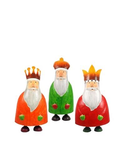 Decoración Navideña Set 3 Figuras Reyes