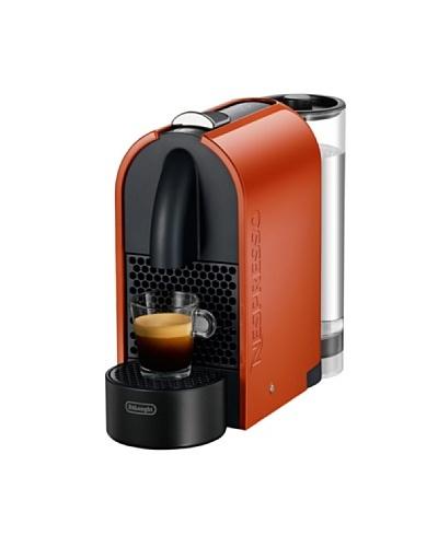 Delonghi Maquina De Café Nespresso U. Automática. Flow Stop. Expresso 19 Bar. Color Naranja