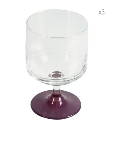 Delys-By-Verceral Set De 3 Copas Para Agua