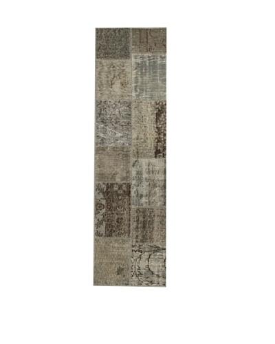 Design Community by Loomier Alfombra Anatolian Patchwork Gris 60 x 200 cm