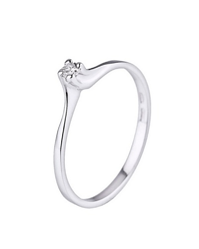 Design Diamond Anillo Châteauroux Oro Blanco