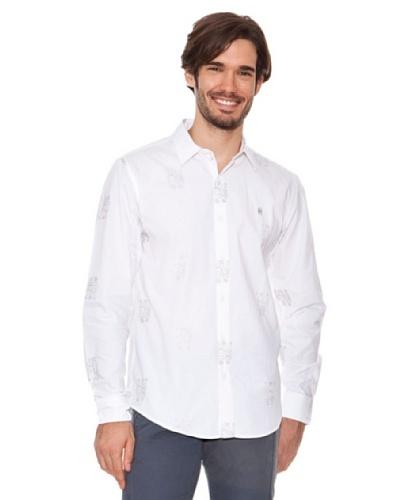 Desigual Camisa Robots Aniversary blanco