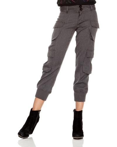 Desigual Pantalón Larralde Gris Medio