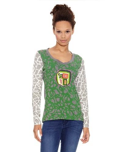 Desigual Camiseta Punta Cana Verde Aventura
