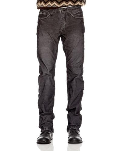 Desigual Pantalón Douglas Negro Estampado
