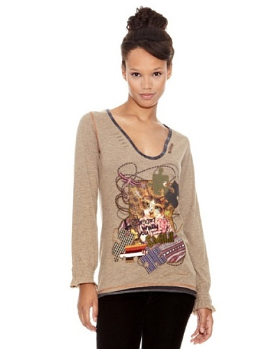 Desigual Camiseta Catman