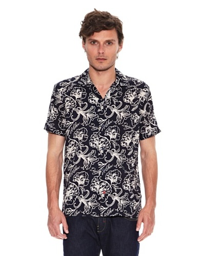 Desigual Camisa Blue Jungle