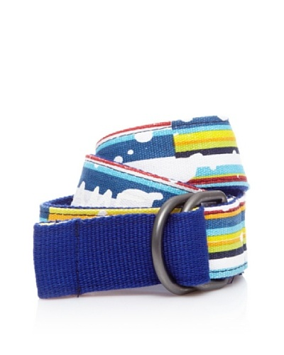 Desigual Cinturón Cartabon Azul Klein
