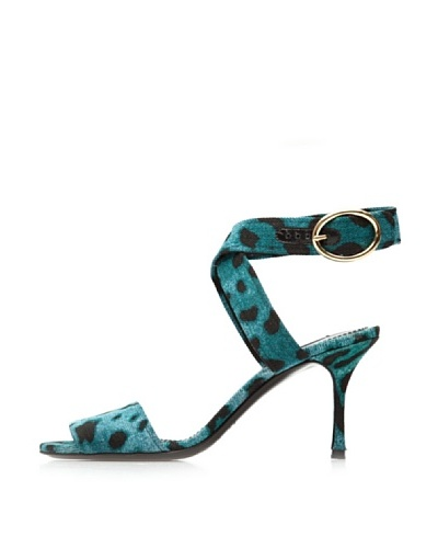 D&G Zapatos Tacón Verde