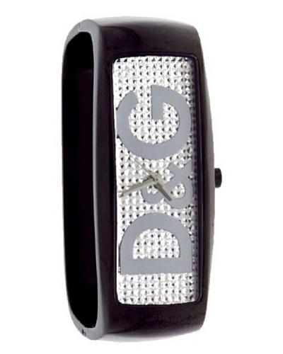 D&G DW-0256 - Reloj de Señora movimiento de cuarzo con brazalete metálico