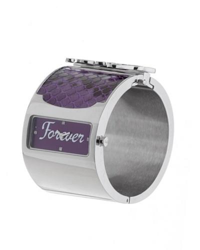 D&G Dolce&Gabbana DW0136 - Reloj analógico de mujer de cuarzo con correa de acero inoxidable platead...