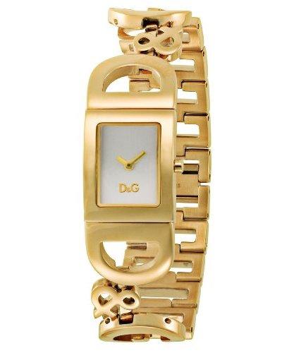 D&G DW0008 – Reloj de Señora cuarzo brazalete Dorado
