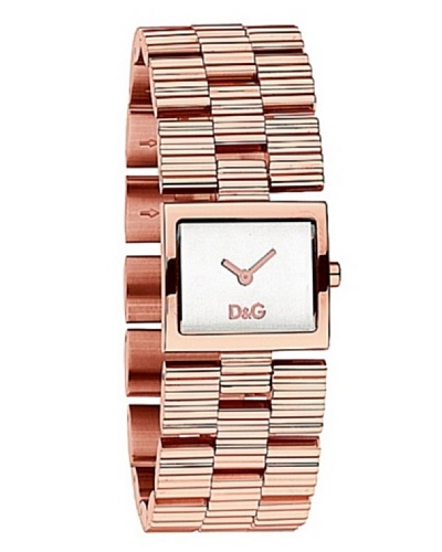 D&G DW-0341 – Reloj de Señora movimiento de cuarzo con brazalete metálico