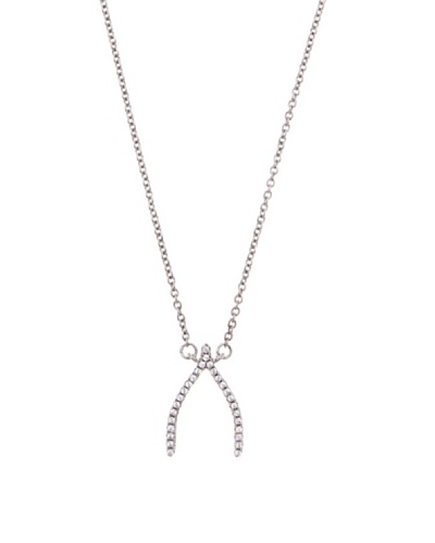 Diamonds by MK Colgante ^ Oro Blanco 9 ct y Diamantes
