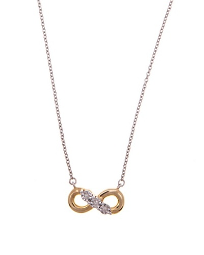 Diamonds by MK Colgante «Infinito» Oro Amarillo 9 ct y Diamantes