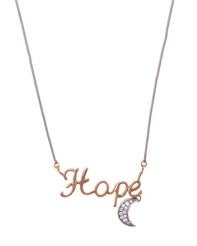 Diamonds by MK Colgante «Hope» Oro Combinado 9 ct y Diamantes