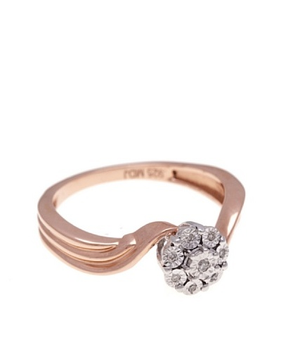 Diamonds by MK Anillo Oro Rosa 9 ct y Diamantes