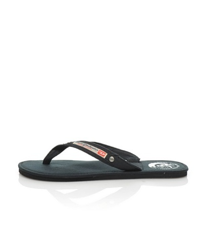 Diesel Chanclas Aqualife Negro