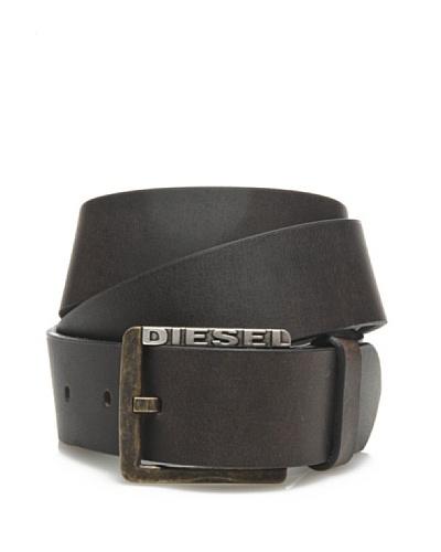 Diesel Cinturón Berney Marrón oscuro