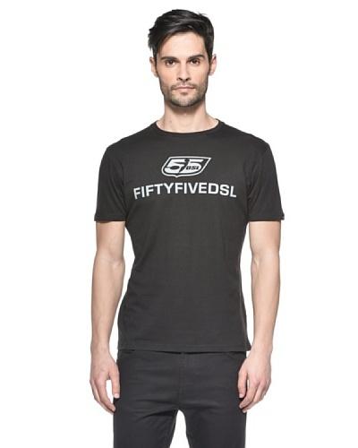 Diesel Camiseta Twologoclassicrags Negro