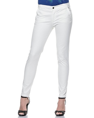 Diesel Pantalón Detta Blanco