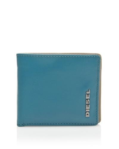 Diesel Hiresh SMALL F&B X01268 PS871, Cartera uomo, 11x8x1 cm (L x A x P), Azul (Blau (Ocean Dep...