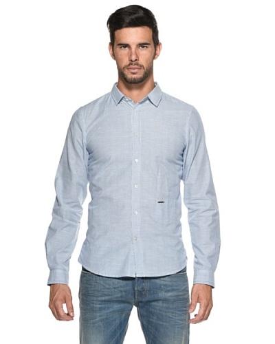 Diesel Camisa Sdany Blanco/Celeste