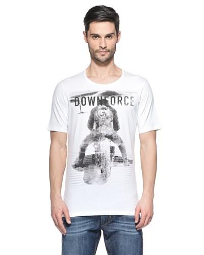 Diesel Camiseta Tdownforcers Blanco