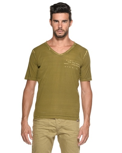 Diesel Camiseta Erinnie Oliva