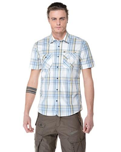 Camicia Spowar Blanco / Azul