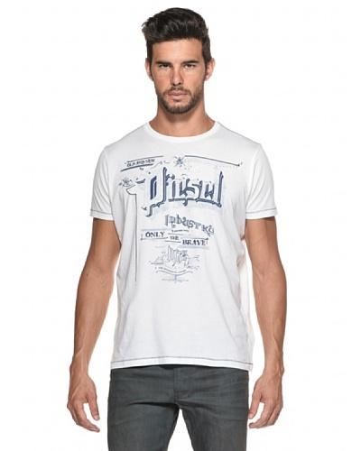 Diesel Camiseta Madron Blanco