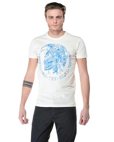 Diesel Camiseta Toll Blanco