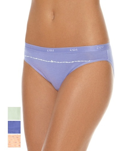 DIM  Pack X 3 Braguitas Azul / Rosa / Verde