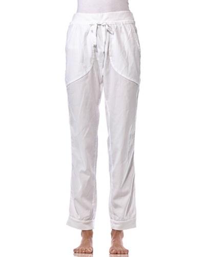 Dimensione Danza Pantalón Cuffed Blanco