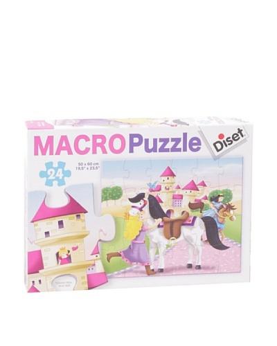 Diset Macro Puzzles Princesas