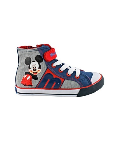 Disney Zapatillas altas Mickey