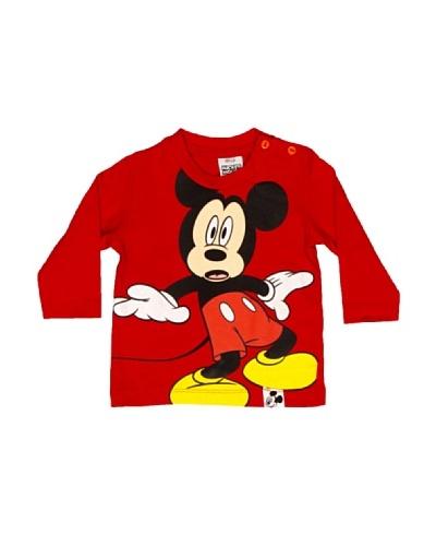 Disney Camiseta Manga Larga Niño Mickey