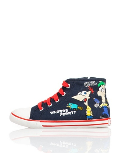 Disney By Gioseppo Zapatillas Bota Phineas
