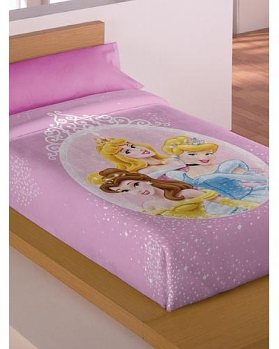 Disney Hogar Manta Terciopelo Princesas
